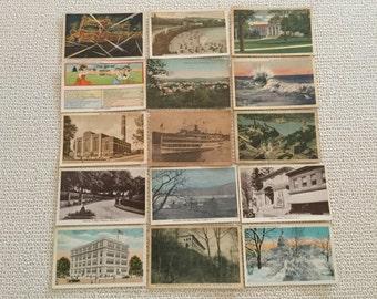 Vintage Postcards circa 1901 - 1930 Listing 108A