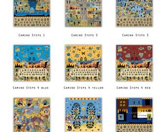 El Camino de Santiago - art print on canvas