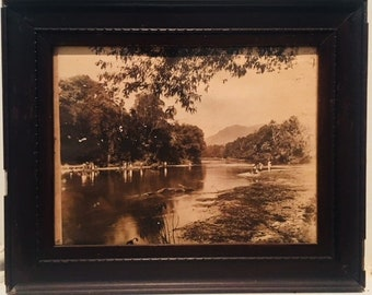 Antique photo Sepia Ceylon