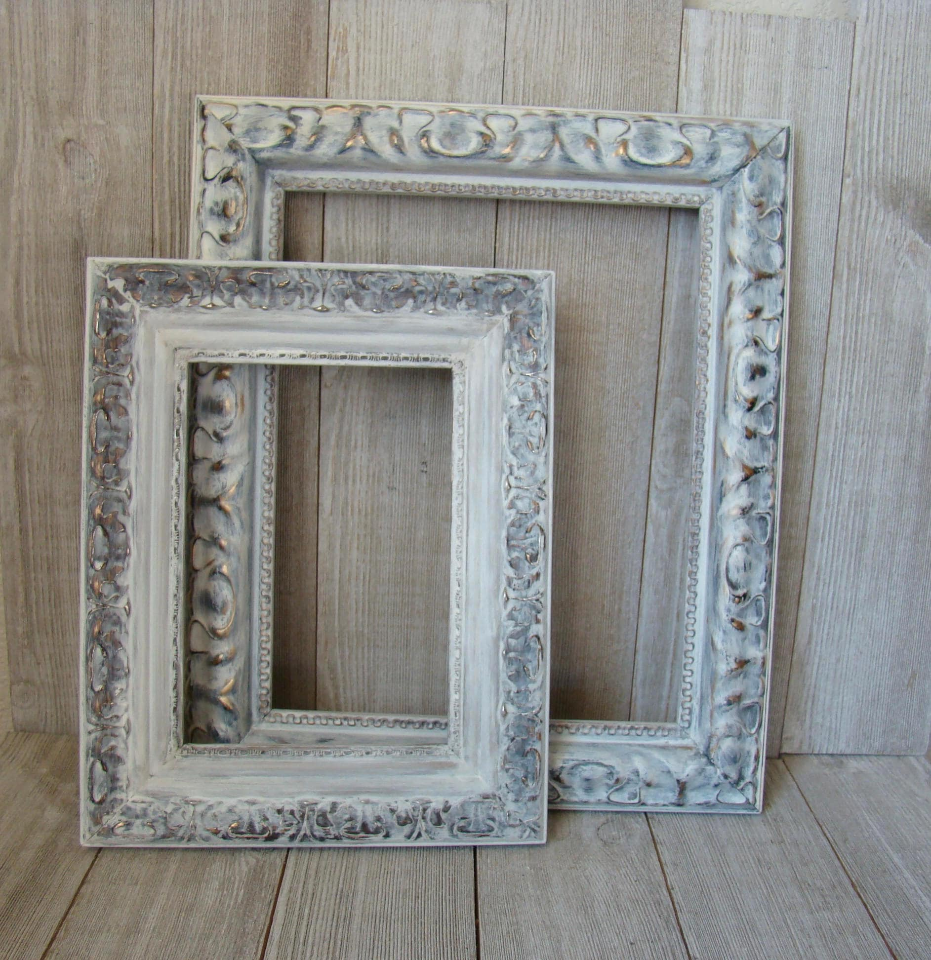 Ornate White Picture Frames, 8 X 10 Frame, 5X7 Frame, Wedding Frames ...