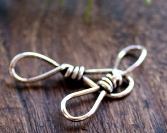Twisted Links TWO Artisan Sterling Silver 002/CL130