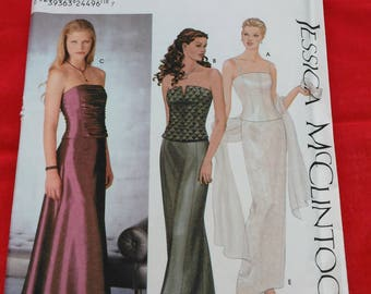 Simplicity #9484 Bustiers and skirts sewing pattern