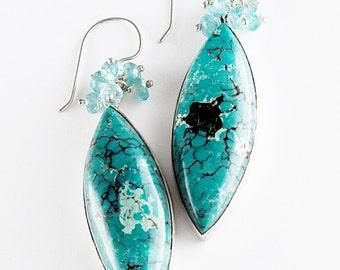 Blue Turquoise Delight Earrings
