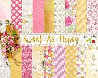 Sweet As Honey Paper Set