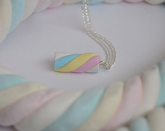 Flump Marshmallow Necklace