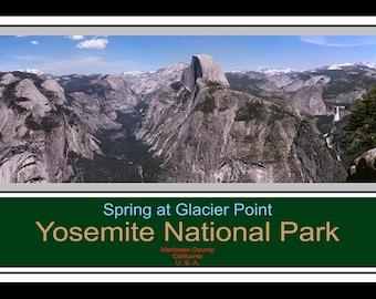 Spring at Glacier Point - Yosemite National Park
