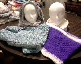 Collection of Convertible Hooded Cowls