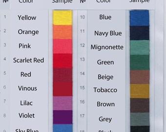Acid dye (powder) for dyeing wool, silk textiles