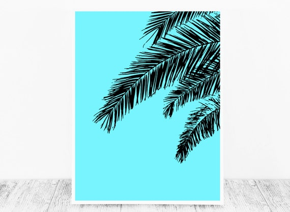 Turquoise Wall Art for Instant Download