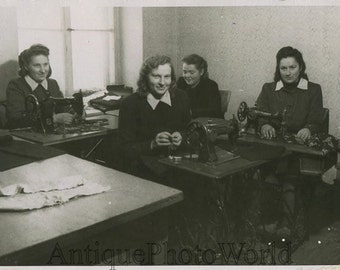 Semastresses by Singer sewing machines antique photo
