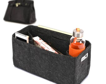 Bag and Purse Organizer for HER.Bags, Felt Purse Organizer, bag insert, Bag Organizer for Hermes. (Express Shipping)