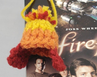 Crocheted Cunning Hat Ornament