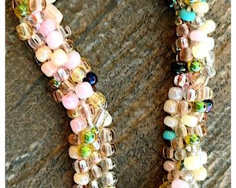 Kumihimo Mix Beaded bracelet
