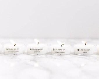 SAMPLE PACK / Set of 6 / Tea Light Soy Candles / Best Seller / Assortment / Home Decor / Gift