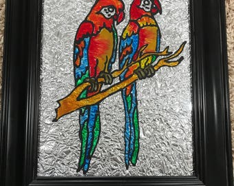 Parrots, Birds, Nature, Wildlife