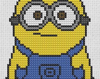 Minion Cross Stitch pattern digital download