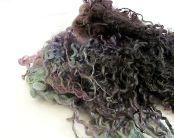 Teeswater Locks Hand Dyed 77g Felted
