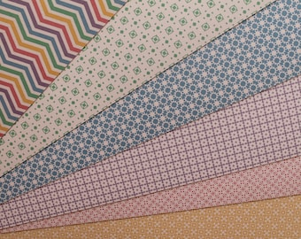 Cardstock Sheet decorated scrapbooking cards and Cardmaking paper