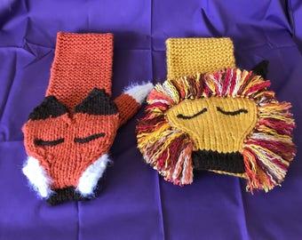 Animal scarves