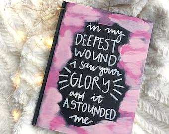 Custom Painted Journal