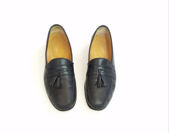 0a81f4c557e Nordstrom Oxfords Classic Wedding Vintage Black Wide Shoes Preppy Shoes  Mens Dress Tassel Slip Style 9 ...