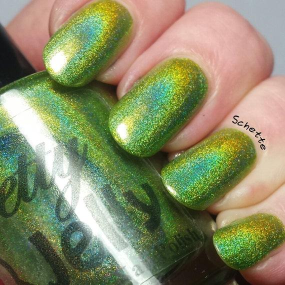 Esmalte de uñas, laca de uñas holográficas, Indie esmalte, uñas de ...