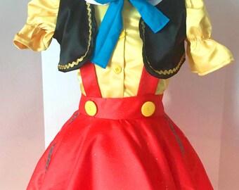 Girly Pinocchio Costume Pinocchio Costume