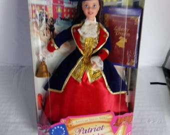 Mattel Collectors Edition Patriot Barbie Doll American Stories Series