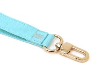 Best Seller Wrist Strap - Turquoise Wristlet - Key Lanyard - Keychain - Fabric Key Chain Strap - Purse Wallet Wrist Strap - Ready to Ship