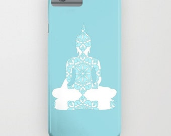 Buddha on the Phone Case -  Yoga art on Phone case , Yoga art, Samsung Galaxy S7, iPhone 6S, iPhone 6 Plus, Yoga Gifts , iPhone 8