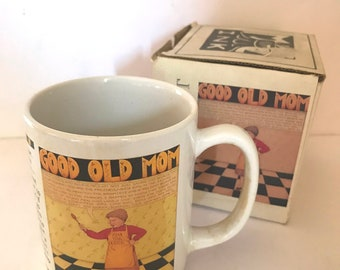 """Vintage Mary Engelbreit """"""""Good Old Mom""""  circa 1992- Never used - Mothers day Gift"""