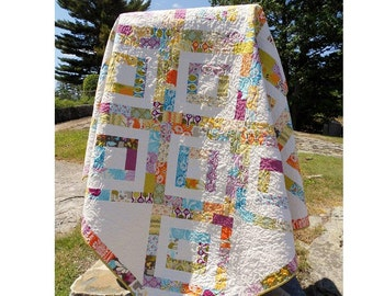 Quilt Patterns -  Iphigene's Walk Jelly Roll Quick and Easy Hard Copy Version - FREE SHIPPING!