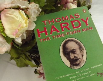 """Thomas Hardy , Paperback book , """" The Time - torn Man"""", Biography, Claire Tomalin, English Author Classic"""