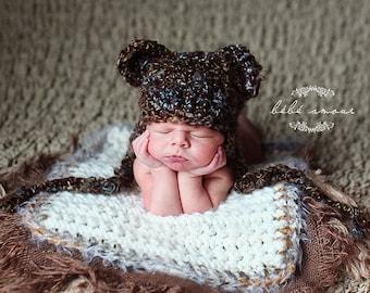 Burlap Layering Blanket Photo Prop Mini Newborn Photography Prop Burlap Blanket Basket Filler Basket Stuffer