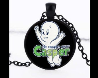 Casper the Friendly Ghost Necklace