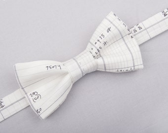 Spreadsheet bow tie, graphic bow tie, math bow tie, accounting bow tie, accounting bow tie, numbers bow tie, geek bow tie, architect bow tie