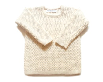Babies/Children's merino wool round neck sweater/jumper/cardigan/toddlers/pullover/crew neck