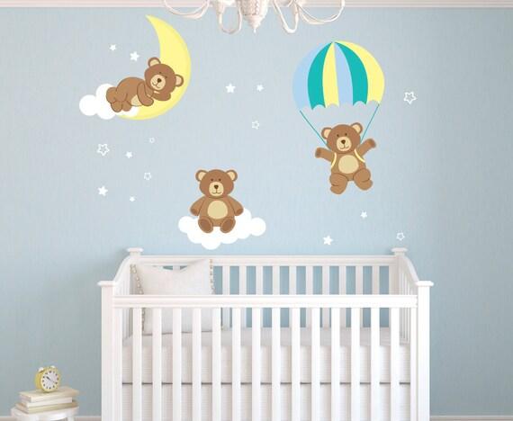 Items Similar To Teddy Bears Theme Wall Decal Bear Room