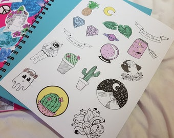 Sketch Aesthetic Stickers