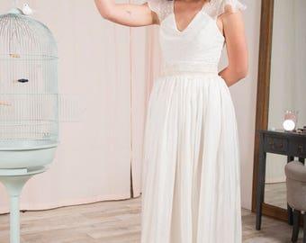 Wedding dress Nougat