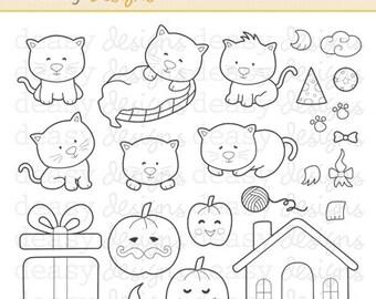 "Digital Stamp Art "" Little Mao"""