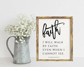 Bible Verse Print, Scripture Print, Christian Wall Art Print, Scripture Printable, Bible Verse Quote Art, Home Decor, Prints, Decoration