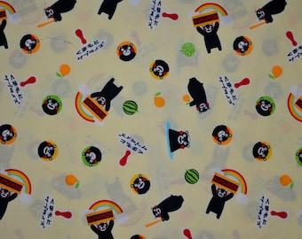 Japanese Fabric Kumamon Characters