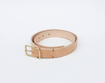 The No. 2 Leather Belt (free shipping)