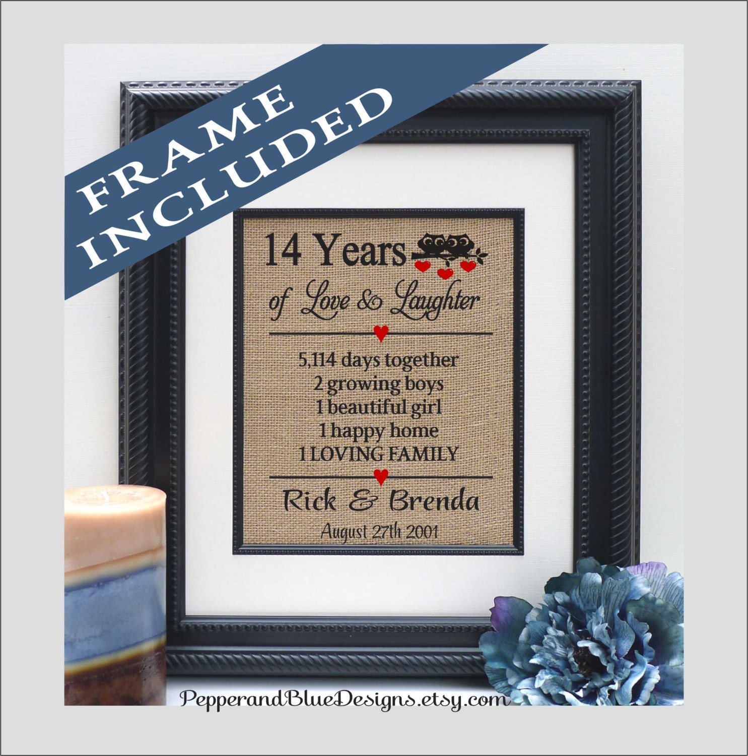 14th Wedding Anniversary Gift Ideas: 14th Wedding Anniversary Gifts 14 Years Married 14 Years