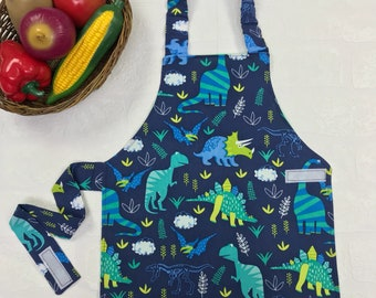 Montessori child apron 2-3 years