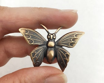 Butterfly Pin, Insect Pin, Insect Brooch, Bug Pin, Bug Jewelry, Insect Jewelry, Butterfly Jewelry, Butterfly Brooch, Butterfly Jewellery