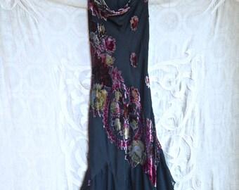 Betsey Johnson Velvet Burnout Dress
