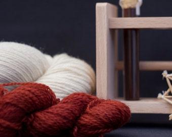 Pflanzenfärbe Kit - Krapp rot - Biowolle - färben mit Pflanzenfarben