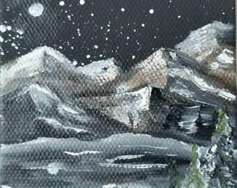 Winter Snowscape